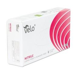 Rękawice nitrylowe bezpudrowe VELO r.M 100