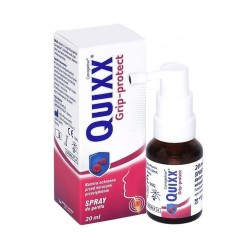 Quixx Grip-protect, spray do gardła, 20 ml, Berlin-Chemie