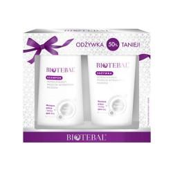BIOTEBAL Pakiet promocyjny szampon + odżyw