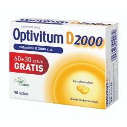 Optivitum D 2000 j.m. 90 kaps.