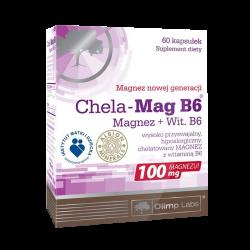 Chela-Mag B6, 60 kapsułek, Olimp Labs