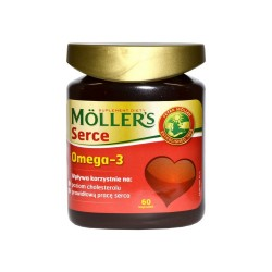 Mollers Serce kaps. 60 kaps.