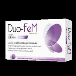 DUO-FeM, 28 tabletek na dzień+ 28 tabletek na noc, Zdrovit
