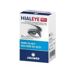 HIALEYE MAX 20 fiol.a 0,5ml