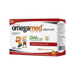 Omegamed Odporność 5+ Syrop w kapsułkach d