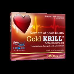 Gold KRILL, 30 kapsułek miękkich, Olimp Labs