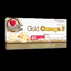 Gold Omega 3, 60 kapsułek, Olimp Labs