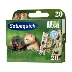 Salvequick Animal Planet plaster 1op.(20sz
