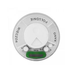 Kasetka z alarmem dzienna, 3 dawkowania, 1 sztuka, EL-COMP