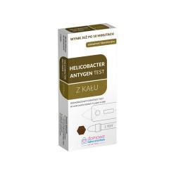 Domowe labolatorium. Test Helicobacter Antygen, test z kału, 1 sztuka, HYDREX