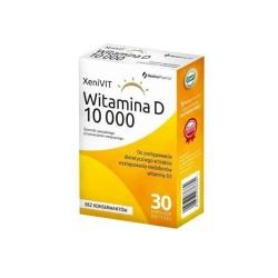XeniVIT Witamina D10000 kaps.miękkie 30kap