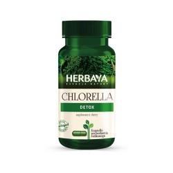 HERBAYA CHLORELLA Detox kaps. 0,625g 60kap