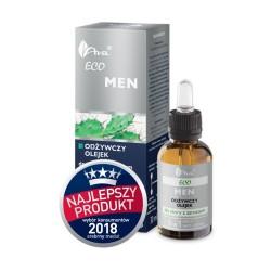 AVA ECO MEN Odżywczy olejek do skóry z zar