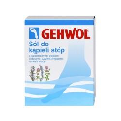 GEHWOL FUSSBAD, sól ziołowa do kąpieli stóp, 20 g, 10 sztuk