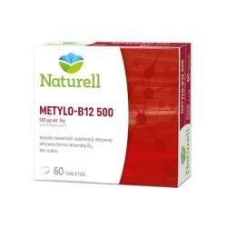 NATURELL Metylo B-12 500 tabl. 60 tabl.