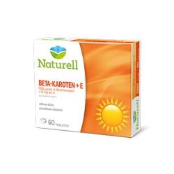 NATURELL Beta-karoten + E tabl. 60 tabl.