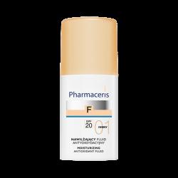 PHARMACERIS F Fluid nawilżający SPF20 IVORY 01 30 ml
