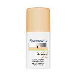 PHARMACERIS F Fluid matujący zwężający pory SPF25 NATURAL 02 30 ml
