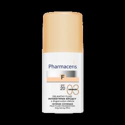 PHARMACERIS F Fluid intensywnie kryjący SPF20 BRONZE 03 30ml