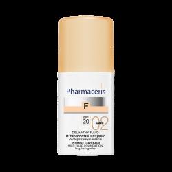 PHARMACERIS F Fluid intensywnie kryjący SPF 20 SAND 02 30 ml