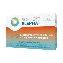 SOFTEYE BLEPHA+ Chusteczki okulistyczne +