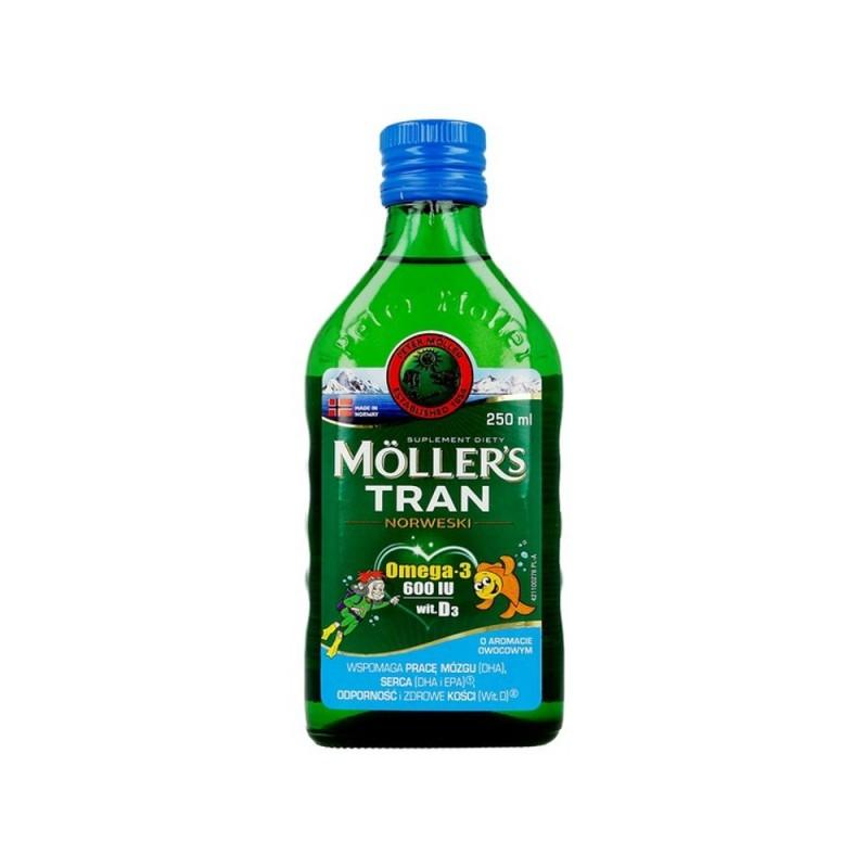 Moller's Tran Norweski owocowy płyn 250ml
