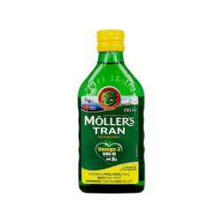 Moller's Tran Norweski cytrynowy płyn 250m
