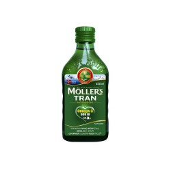 Moller's Tran Norweski naturalny płyn 250m