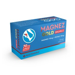 Magnez Gold Skurcz tabl. 50 tabl.