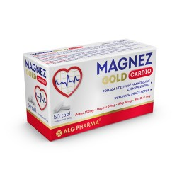 Magnez Gold Cardio tabl. 50 tabl.
