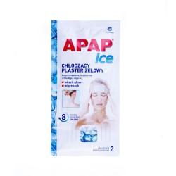 APAP ICE Plaster chłodzący żelowy 2plast.