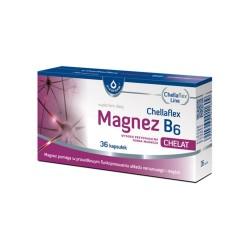 Chellaflex Magnez B6 kaps. 36 kaps.