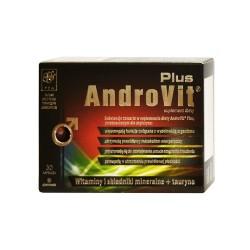 AndroVit Plus, 30 kapsułek żelatynowych, A&D Pharma