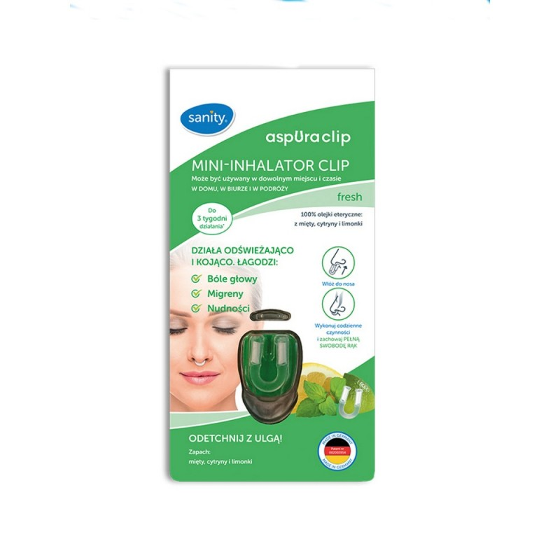 Sanity Mini- inhalator CLIP (aspUraclip fr