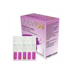 Biolan Gel 0,3%, krople do oczu, ampułki, 10x0,35ml, PHARM SUPPLY