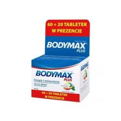 Bodymax Plus tabl. 80tabl.(60+20tabl.)