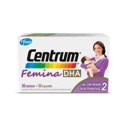 Centrum Femina DHA w okresie karmienia 2 t