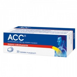 ACC, 200 mg, tabletki musujące, 20 szt.