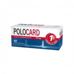 Polocard, 75mg, 60 tabletek