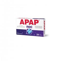 Apap Noc, 500 mg + 25 mg, 24 tabletek