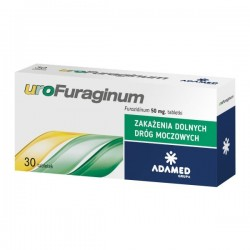 Urofuraginum, 50mg, 30 tabletek