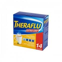Theraflu Extra Grip, 650mg+10mg+20mg, proszek do sporządzania roztworu doustnego, 14 saszetek