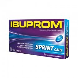Ibuprom Sprint Caps 200mg, 10 kapsułek