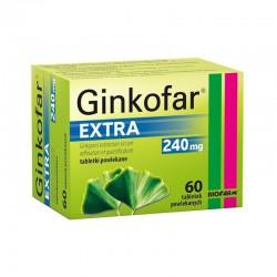 Ginkofar Extra, 240mg, 60 tabletek