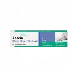 Aescin, (20mg+50mg+50m.j.)/g, żel, 40g