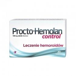 Procto-Hemolan control, 1000mg, 20 tabletek