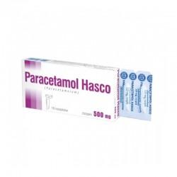 Paracetamol Hasco, 500mg, czopki, 10 sztuk