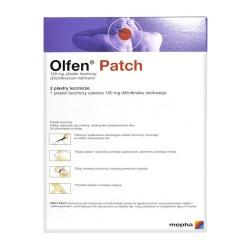 Olfen Patch, 140mg, plastry lecznicze, 2 sztuki