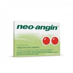 Neo-Angin, 1,2 mg+0,6 mg+5,9 mg, 24 tabletek do ssania