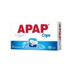 APAP Caps kaps.miękkie 0,5 g 10 kaps.
